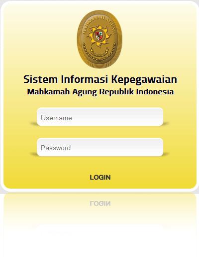 Aplikasi Sistem Informasi Mahkamah Agung RI Terintegrasi